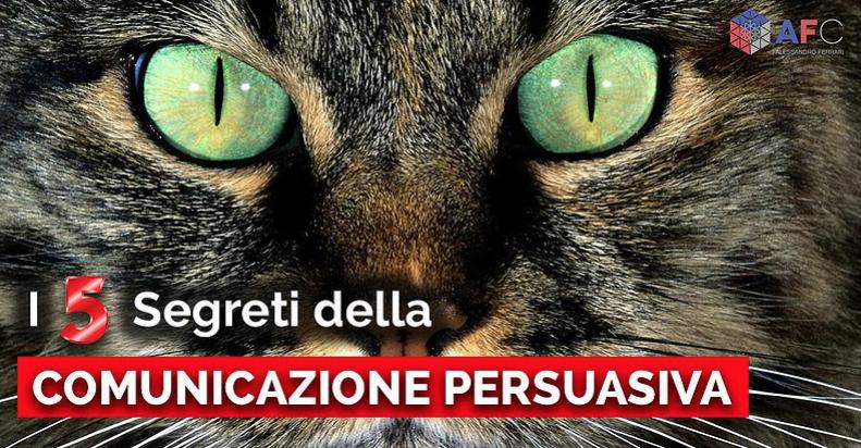 I 5 SEGRETI DELLA COMUNICAZIONE PERSUASIVA